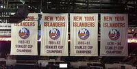 NYI Stanley Cup banners