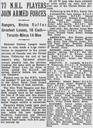 1Nov1942-Players lost to Armed Forces