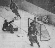 8Nov1961-Beckett scores Rangers