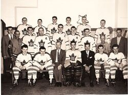 Maple Leafs Verdun 1957-58