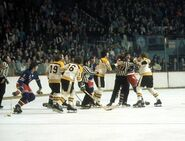 3Feb1973-Bruins NYR brawl