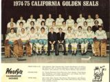 1974–75 California Golden Seals season