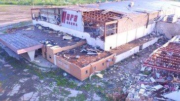 Hara Arena (after tornado damage)