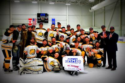 2018 RHL champions Nanton Palominos