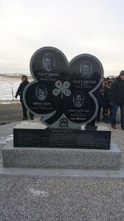 Four Broncos Memorial