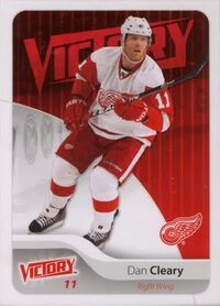 Dan Cleary Hockey Card