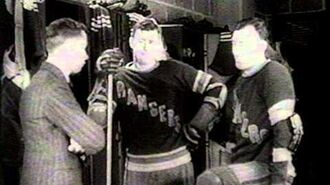 1933 Stanley Cup Final , Toronto Maple Leafs - New York Rangers 4 game