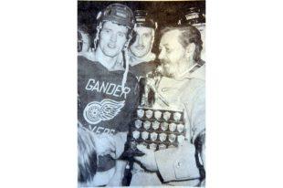 1980 Herder Memorial Trophy presentation