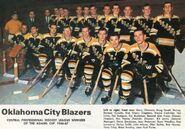 Oklahoma Blazers 1967 Champs