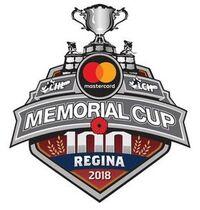 2018 Memorial Cup logo official