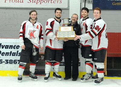 2016 IJHL champs Kensington Vipers