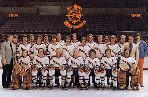 1974 75 San Diego Mariners Season Ice Hockey Wiki