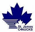 St. James Canucks logo