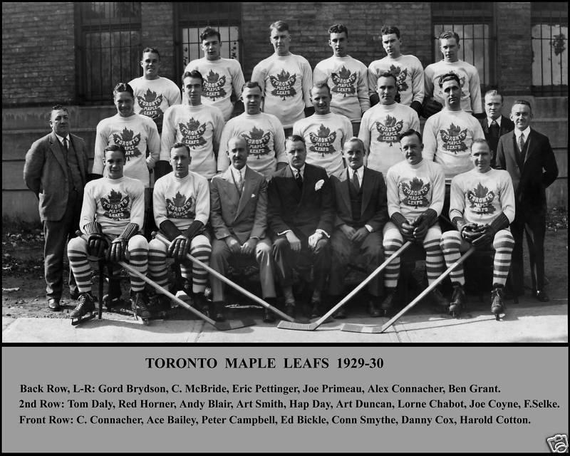1929–30 Toronto Maple Leafs season  8254391f3