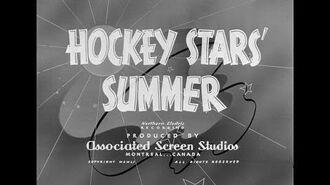 Canadian Cameo, Hockey Stars' Summer (1951)