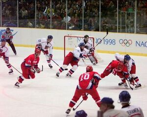 Nagano 1998-Russia vs Czech Republic