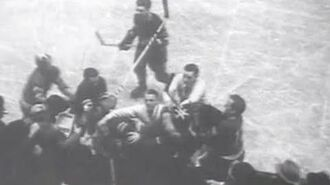 New York Rangers Defeat Detroit Red Wings in Stanley Cup Opener, at Madison Square Garden (1937)