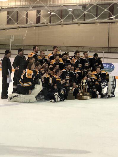 2018 SEMHL champions Carman Beavers