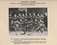 1950-51 Dauphin Kings MB Champions 1