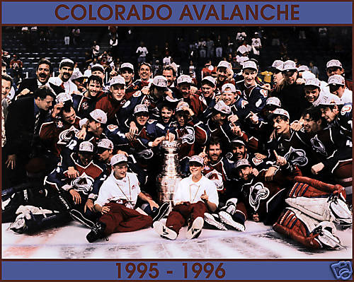 3d878adca7a The 1996 Stanley Cup Final NHL championship series was contested by the Colorado  Avalanche and the Florida Panthers. The Avalanche won the Cup in a four ...