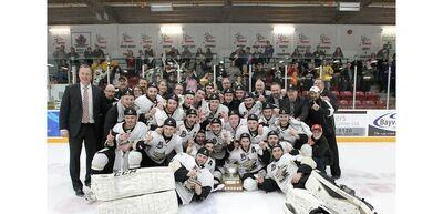 2016 OJHL champs Trenton Golden Hawks