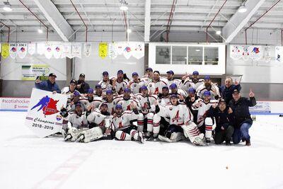 2019 LHSAC champions Acadie Alpines