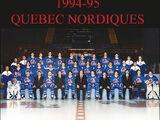 1994–95 Quebec Nordiques season