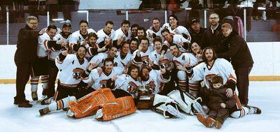 2016 SaskAlta Hockey League champions Wainright Rustlers