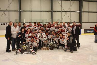 2017 MMJHL champs Raiders Jr. Hockey Club
