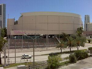 Miami arena demolition