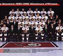 1995–96 Ottawa Senators season