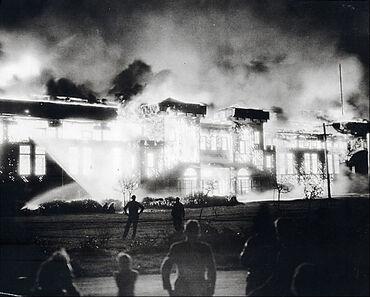 Willows Arena Fire April 1944