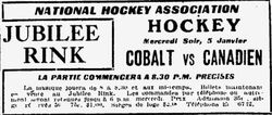19101stCanadiensGameAd