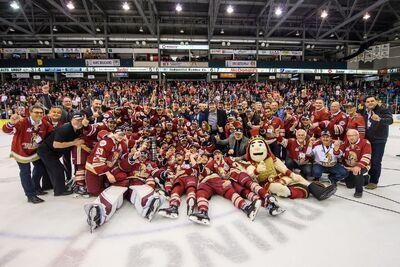2018 QMJHL champions Acadie-Bathurst Titan