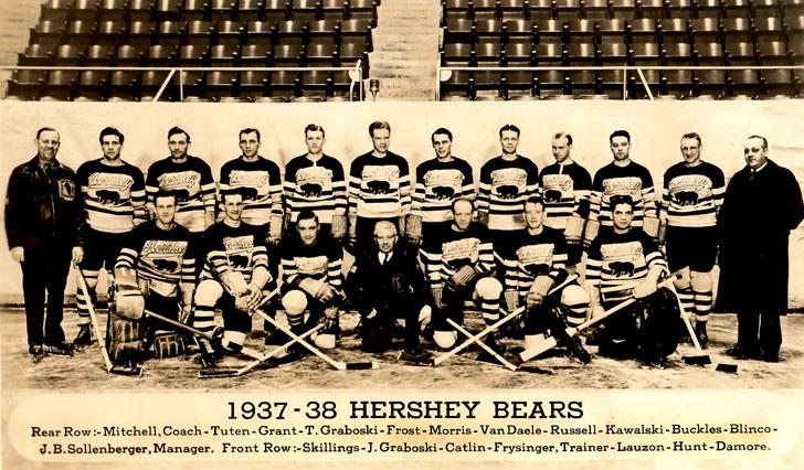 Hershey Bears Jersey History