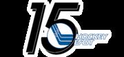 Hockey East Women's 15th anniversary logo