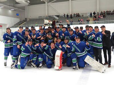 2017 GMJHL champs Niagara Whalers