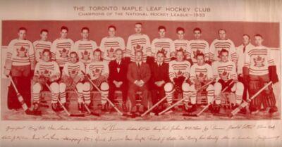 1932-33 Leafs