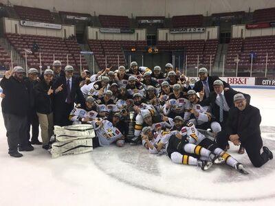 2017 ECHL champs Colorado Eagles