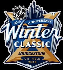 2018 NHL Winter Classic logo