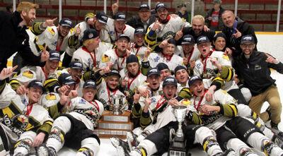 2017 NOJHL champs Powassan Voodoos