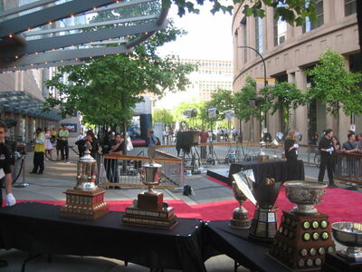 Trophies 2006nhlawards