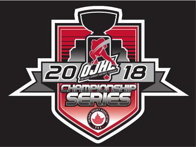 2018 OJHL playoff logo