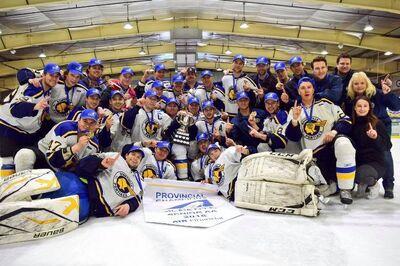 2018 Alberta Senior AA champions Bonnyville Pontiacs