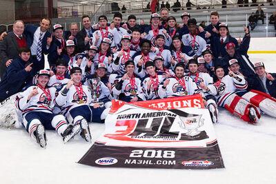 2018 NA3HL Champions Metro Jets