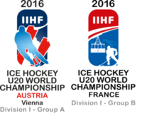 2016 World Junior Ice Hockey Championships – Division I