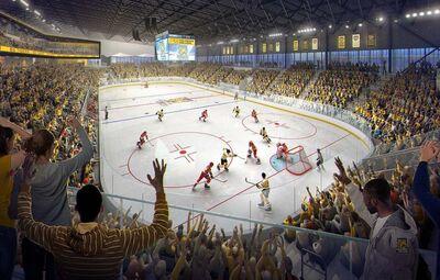 Robson Arena (Artist rendering)