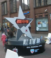 4th KHL All-Star Game clock