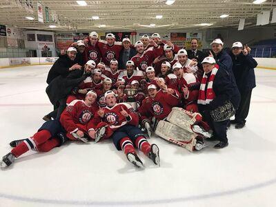 2018 CCHL champions Ottawa Jr Senators