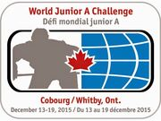 2015 World Junior A Challenge logo